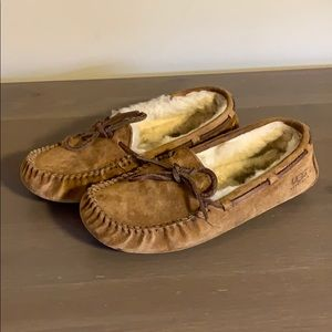 Ugg Tan Suede Moccasins - Women's Size 6